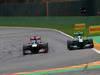 GP BELGIO, 25.08.2013-  Gara, Jean-Eric Vergne (FRA) Scuderia Toro Rosso STR8 e Giedo Van der Garde (NED), Caterham F1 Team CT03