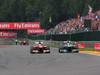 GP BELGIO, 25.08.2013-  Gara, Fernando Alonso (ESP) Ferrari F138 pass Lewis Hamilton (GBR) Mercedes AMG F1 W04