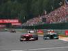 GP BELGIO, 25.08.2013-  Gara, Fernando Alonso (ESP) Ferrari F138 e Lewis Hamilton (GBR) Mercedes AMG F1 W04