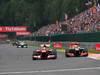 GP BELGIO, 25.08.2013-  Gara, Felipe Massa (BRA) Ferrari F138 e Sergio Perez (MEX) McLaren MP4-28