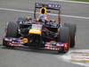 GP BELGIO, 24.08.2013- Free Practice 3, Sebastian Vettel (GER) Red Bull Racing RB9