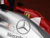 GP BELGIO, 24.08.2013- Qualifiche, Nico Rosberg (GER) Mercedes AMG F1 W04 e Fernando Alonso (ESP) Ferrari F138