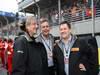 GP BRASILE, 24.11.2013 - Gara, Mario Isola (ITA), Sporting Director Pirelli  e Paul Hembery, Pirelli Motorspor Director