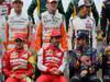 GP BRASILE, 24.11.2013 - Gara, Fernando Alonso (ESP) Ferrari F138 e Sebastian Vettel (GER) Red Bull Racing RB9