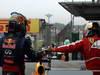 GP BRASILE, 24.11.2013 - Gara, Sebastian Vettel (GER) Red Bull Racing RB9 vincitore e terzo Fernando Alonso (ESP) Ferrari F138