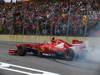 GP BRASILE, 24.11.2013 - Gara, Felipe Massa (BRA) Ferrari F138 makes donuts