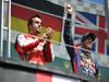 GP CANADA, 09.06.2013-  Podium: winner Sebastian Vettel (GER) Red Bull Racing RB9, 2nd Fernando Alonso (ESP) Ferrari F138