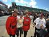 GP CANADA, 09.06.2013- Gara, Sebastian Vettel (GER) Red Bull Racing RB9 wit red coats soldier
