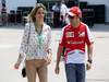 GP CINA, 14.04.2013- Felipe Massa (BRA) Ferrari F138 e sua moglie Raffaela Bassi (BRA)
