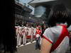 GP CINA, 14.04.2013- Felipe Massa (BRA) Ferrari F138 e Sebastian Vettel (GER) Red Bull Racing RB9  at drivers parade