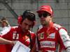 GP CINA, 14.04.2013- Gara, Andrea Stella (ITA) Ferrari race Engineer e Fernando Alonso (ESP) Ferrari F138