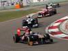 GP CINA, 14.04.2013- Gara, Jean-Eric Vergne (FRA) Scuderia Toro Rosso STR8 davanti a Valtteri Bottas (FIN), Williams F1 Team FW35