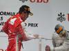 GP CINA, 14.04.2013- Gara, Fernando Alonso (ESP) Ferrari F138 vincitore e terzo
