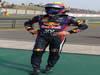 GP CINA, 14.04.2013- Gara, Mark Webber (AUS) Red Bull Racing RB9 retires from the race