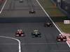 GP CINA, 14.04.2013- Gara, Felipe Massa (BRA) Ferrari F138 e Lewis Hamilton (GBR) Mercedes AMG F1 W04