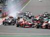 GP COREA, 06.10.2013- Gara: Start of the race