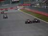 GP COREA, 06.10.2013- Gara,Kimi Raikkonen (FIN) Lotus F1 Team E21 overtakes  Romain Grosjean (FRA) Lotus F1 Team E213