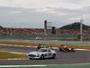 GP COREA, 06.10.2013- Gara, The Safety Car Mercedes SLS lead the group