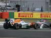 GP COREA, 06.10.2013- Gara, Adrian Sutil (GER), Sahara Force India F1 Team VJM06 crash with Mark Webber (AUS) Red Bull Racing RB9