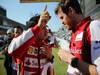 GP GIAPPONE, 13.10.2013- Gara, Felipe Massa (BRA) Ferrari F138 e Rob Smedley, (GBR), Ferrari, Track Engineer of Felipe Massa (BRA)