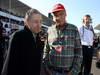 GP GIAPPONE, 13.10.2013- Gara, Jean Todt (FRA), President FIA e Nikki Lauda (AU), Mercedes