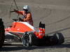 GP GIAPPONE, 13.10.2013- Gara, Crash, Jules Bianchi (FRA) Marussia F1 Team MR02