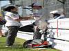GP GIAPPONE, 13.10.2013- Gara, Monisha Kaltenborn (AUT), CEO e Team Principal, Sauber F1 Team e Nico Hulkenberg (GER) Sauber F1 Team C32