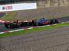 GP GIAPPONE, 13.10.2013- Gara, Kimi Raikkonen (FIN) Lotus F1 Team E21 e Jenson Button (GBR) McLaren Mercedes MP4-28