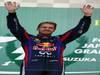 GP GIAPPONE, 13.10.2013- Gara, Sebastian Vettel (GER) Red Bull Racing RB9 vincitore