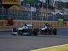 GP GIAPPONE, 13.10.2013- Gara, Valtteri Bottas (FIN), Williams F1 Team FW35 davanti a Jean-Eric Vergne (FRA) Scuderia Toro Rosso STR8