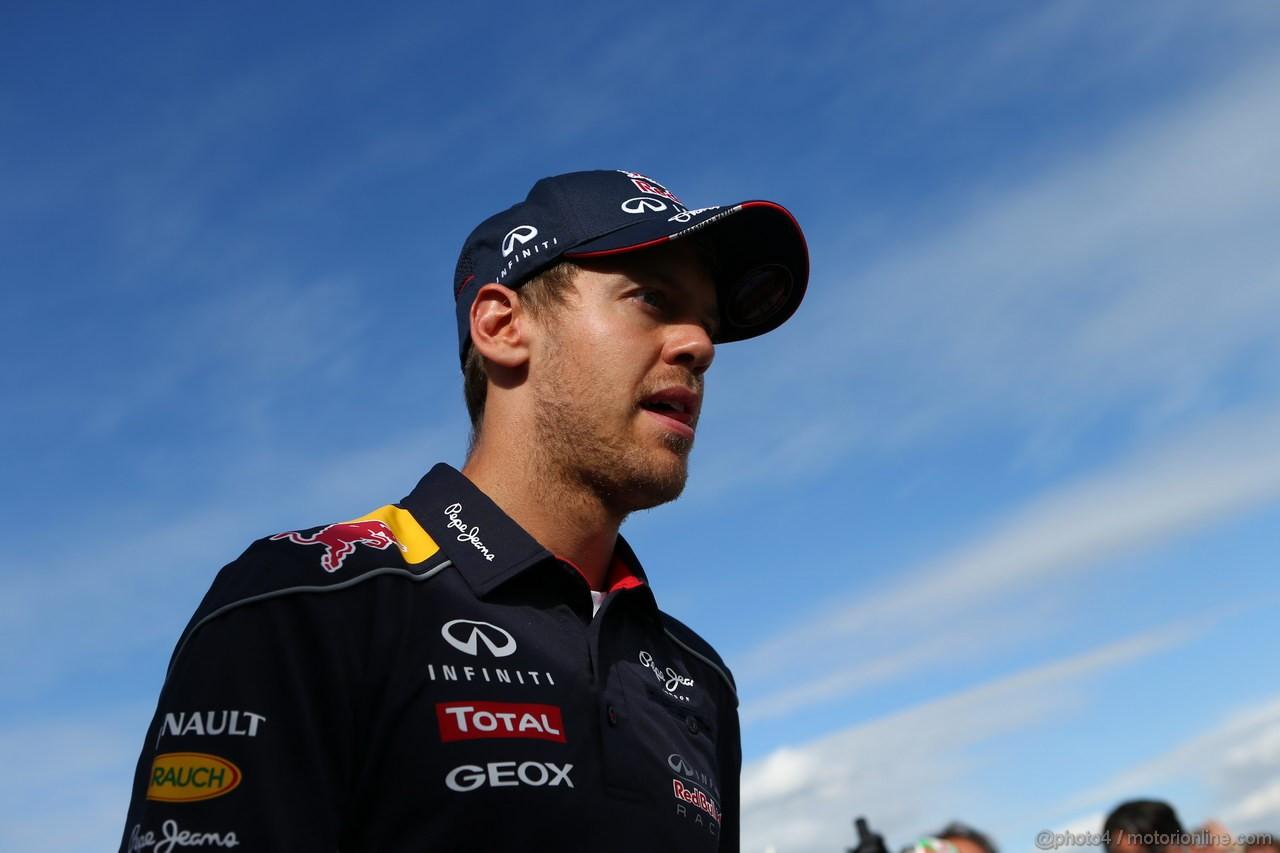 GP GRAN BRETAGNA, 30.06.2013- Sebastian Vettel (GER) Red Bull Racing RB9