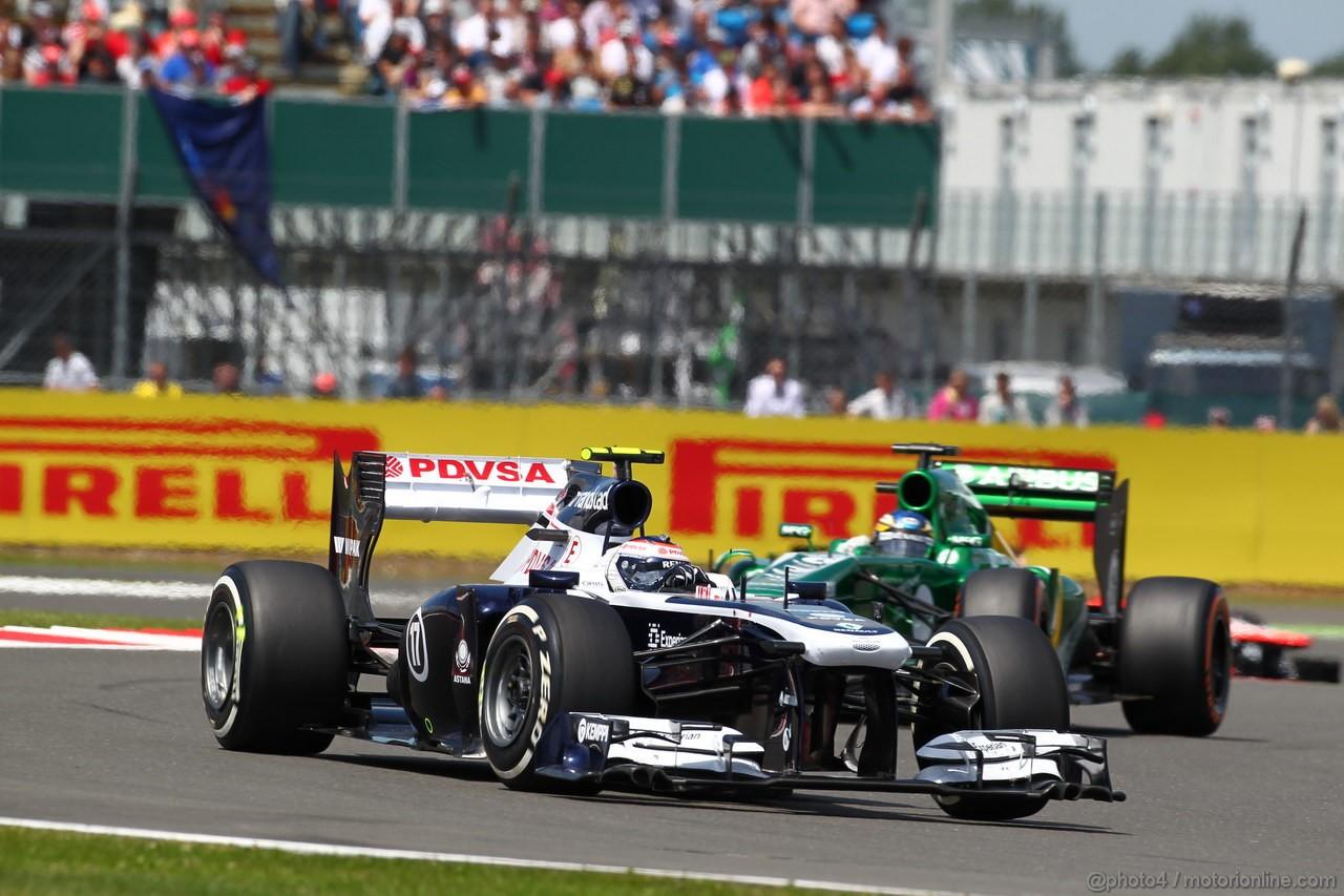 GP GRAN BRETAGNA, 30.06.2013- Gara: Valtteri Bottas (FIN), Williams F1 Team FW35