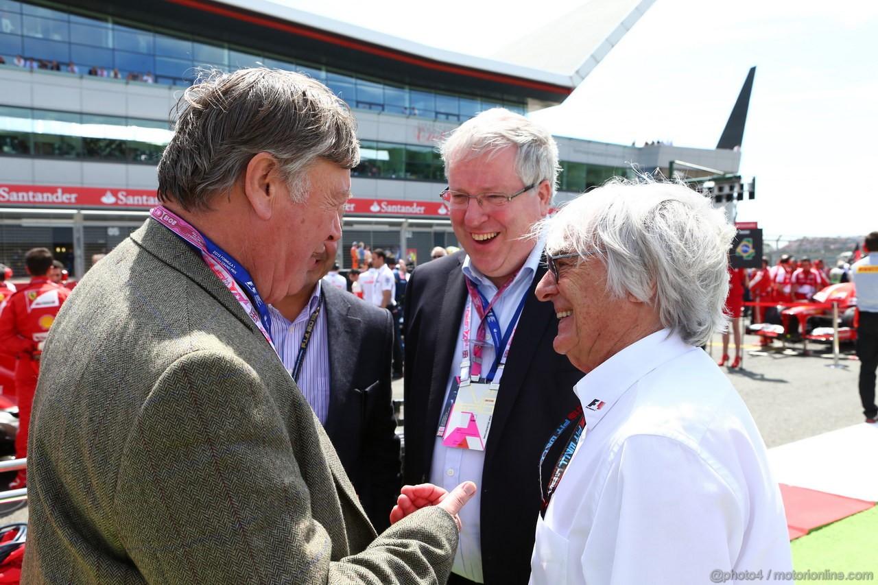 GP GRAN BRETAGNA, 30.06.2013- Bernie Ecclestone (GBR), President e CEO of Formula One Management