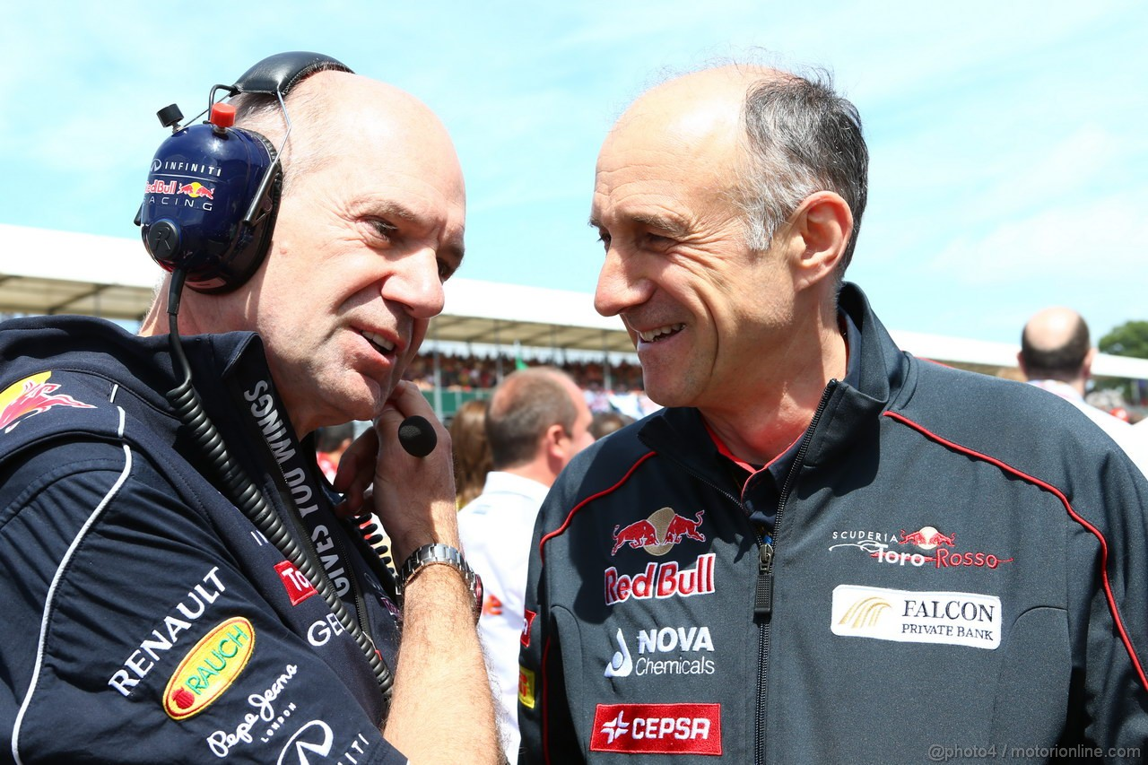 GP GRAN BRETAGNA, 30.06.2013- Adrian Newey (GBR), Red Bull Racing , Technical Operations Director