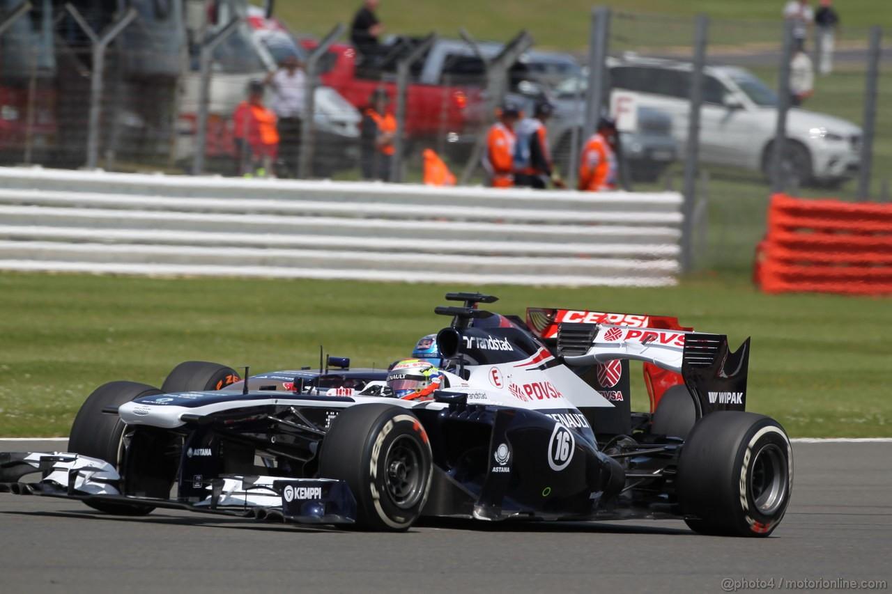 GP GRAN BRETAGNA, 30.06.2013- Gara, Pastor Maldonado (VEN) Williams F1 Team FW35
