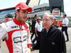GP GRAN BRETAGNA, 30.06.2013- Gara: Jules Bianchi (FRA) Marussia F1 Team MR02 e Jean Todt (FRA) Fia President