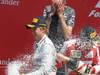 GP GRAN BRETAGNA, 30.06.2013- Podium: winner Nico Rosberg (GER) Mercedes AMG F1 W04, 3rd Fernando Alonso (ESP) Ferrari F138