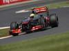 GP GRAN BRETAGNA, 30.06.2013- Gara, Sergio Perez (MEX) McLaren MP4-28
