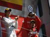 GP GRAN BRETAGNA, 30.06.2013- Podium, winner Nico Rosberg (GER) Mercedes AMG F1 W04 e 3rd  Fernando Alonso (ESP) Ferrari F138