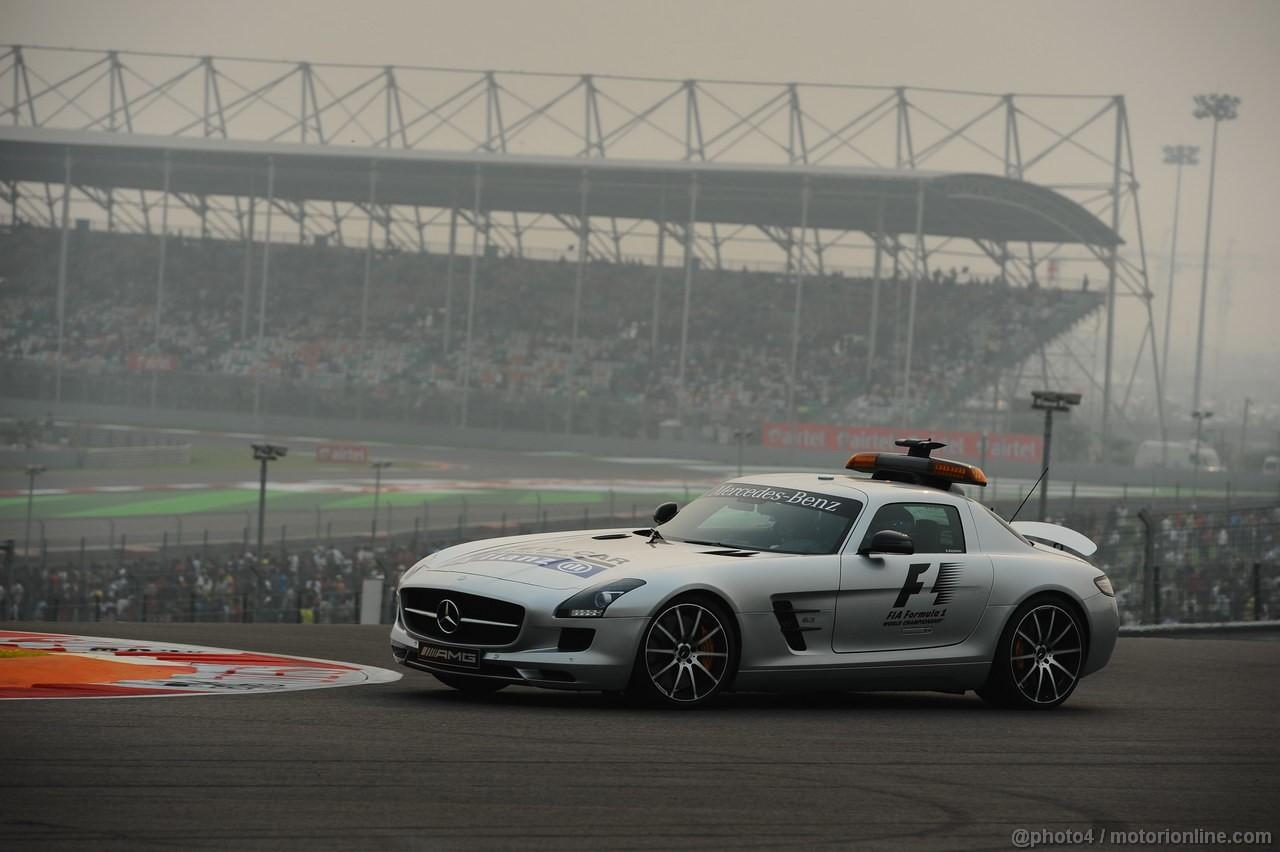 GP INDIA, 27.10.2013- Mercedes