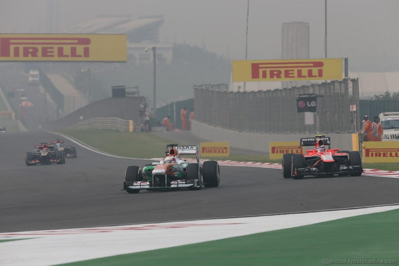 GP INDIA, 27.10.2013- Gara: Paul di Resta (GBR) Sahara Force India F1 Team VJM06