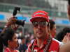 GP INDIA, 27.10.2013- Drivers parade: Fernando Alonso (ESP) Ferrari F138