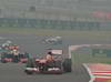GP INDIA, 27.10.2013- Gara: Fernando Alonso (ESP) Ferrari F138
