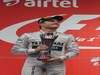 GP INDIA, 27.10.2013- Podium: Nico Rosberg (GER) Mercedes AMG F1 W04 (secondo)