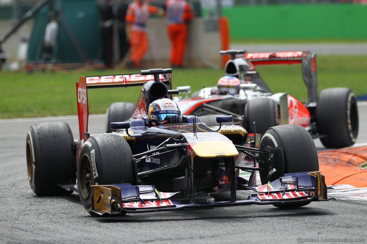 GP ITALIA, 08.09.2013- Gara, Jean-Eric Vergne (FRA) Scuderia Toro Rosso STR8