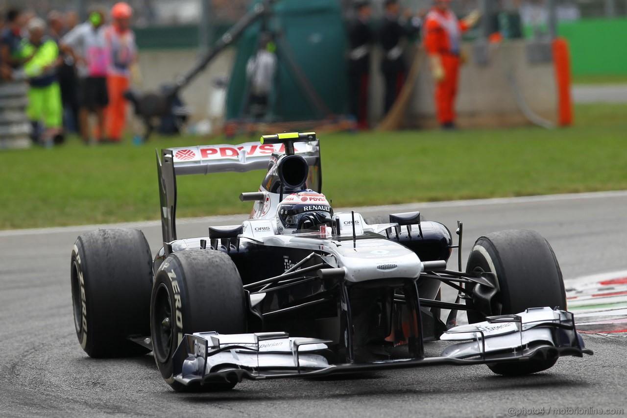 GP ITALIA, 08.09.2013- Gara, Valtteri Bottas (FIN), Williams F1 Team FW35