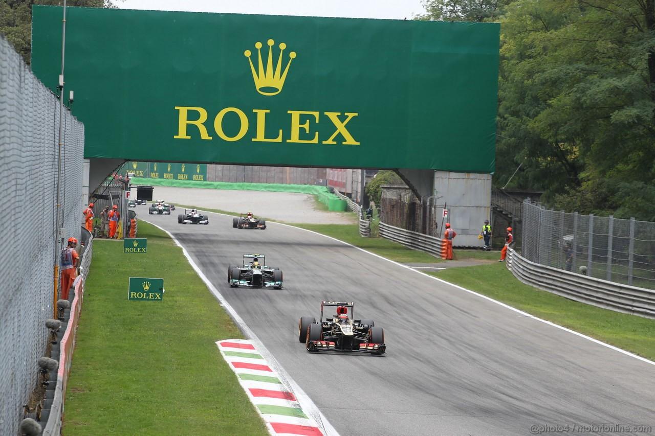 GP ITALIA, 08.09.2013- Gara, Kimi Raikkonen (FIN) Lotus F1 Team E21