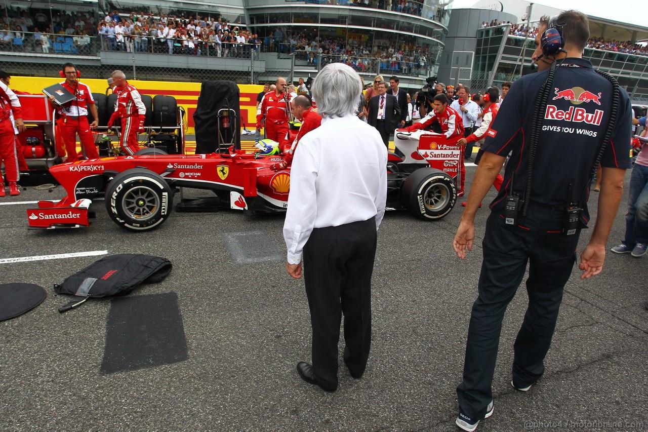GP ITALIA, 08.09.2013- Bernie Ecclestone (GBR), President e CEO of Formula One Management