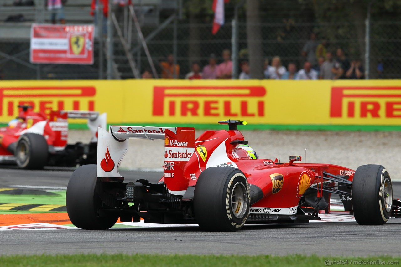GP ITALIA, Felipe Massa (BRA) Ferrari F138