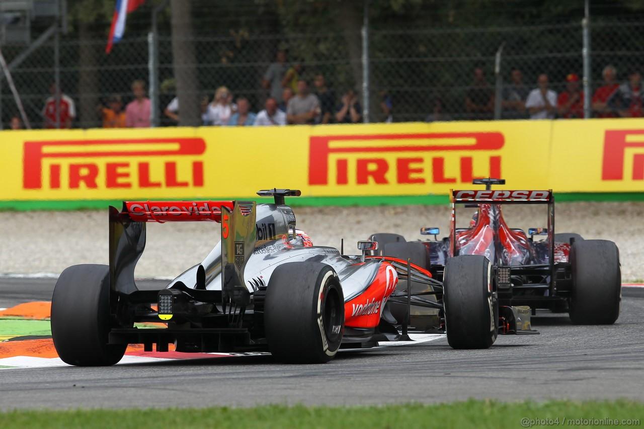 GP ITALIA, Jenson Button (GBR) McLaren Mercedes MP4-28